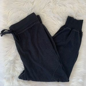 Free People Movement Jogger Sweatpants  L Black